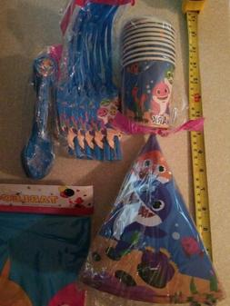 baby party supplies plates hats table cloth