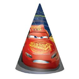 CARS 3 CONE HATS  ~ Birthday Party Supplies Favors Paper Dis