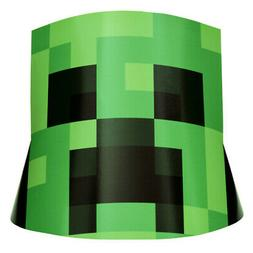 MINECRAFT CONE HATS  ~ Birthday Party Supplies Favors Creepe