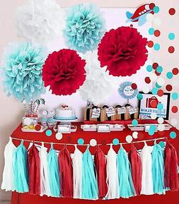 Dr. Seuss Party Decorations Cat in The Hat Baby Shower Decor