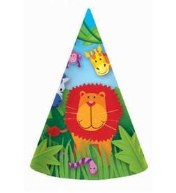 Jungle Animals Hats 8ct  Per Amazon Combined Package Sales U