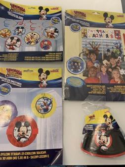 Mickey Mouse Roadster Racers Birthday Party Hats Decorations