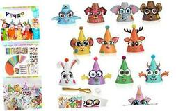 Party Hats Birthday Arts and Crafts for Kids Activities Kit