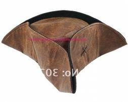 Pirate Hat Brown Captain Party Costumes Fashion Adult Access