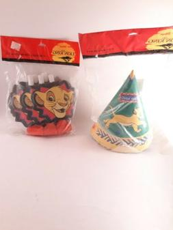 The Lion king Birthday Party Supplies **VINTAGE**NEW*