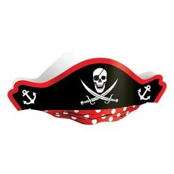 US Toy Pirate Captain Cardboard Party Hats Costume